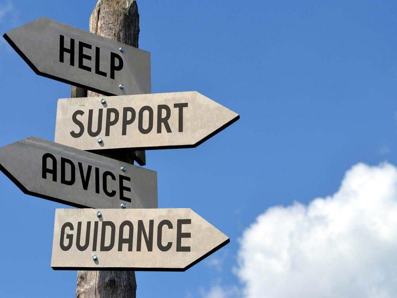 Help, support, advice & guidance